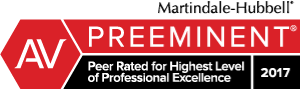 Attorney Guy S. Emerich Rated AV® Preeminent™ by Martindale-Hubbell®
