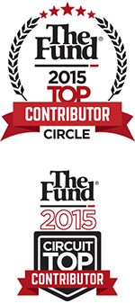 The Fund, Real Estate Law Award, Top Contributor Circle and Top Circuit Contributor